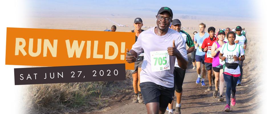 Lewa Safari Marathon Run Wild Banner